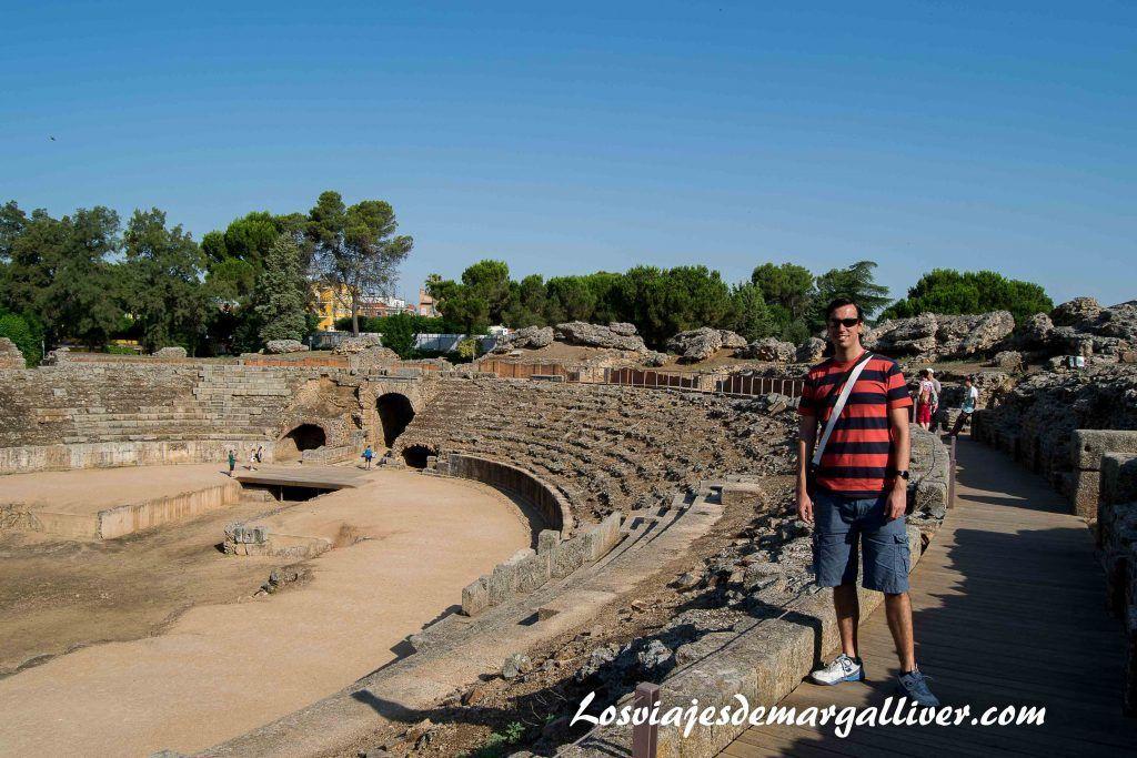 Anfiteatro romano de Mérida - Los viajes de Margalliver